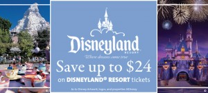 Big savings at Disney Theme parks