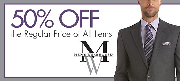afca members will look sharp with savings from men's wearhouse