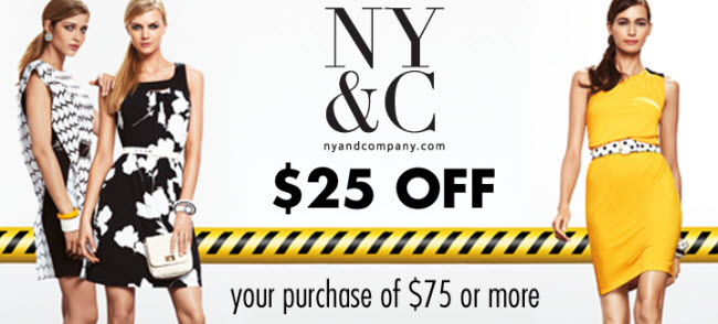 afca members save at New York & Co