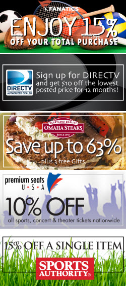 Fall Savings Exclusives for afca members