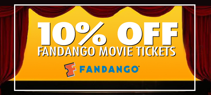 afca members save 10% with Fandango