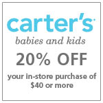 afca members save at Carters
